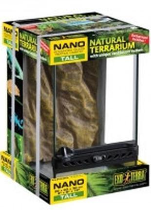 Hagen Exo Terra Nano Tall Terrarium террариум 20х20х30см