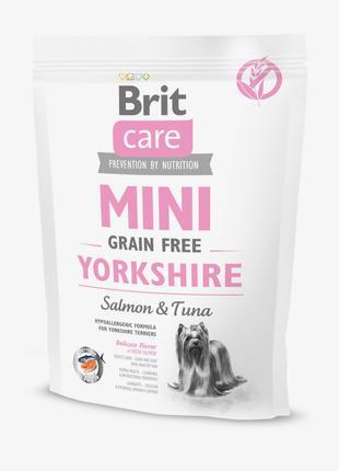 Brit Care Mini Grain Free Yorkshire сухой гипоаллергенный корм...