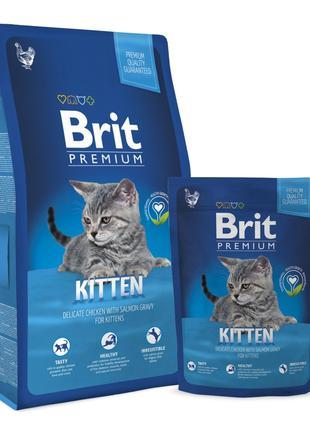Brit Premium Cat Kitten корм для котят с курицей, 1,5кг