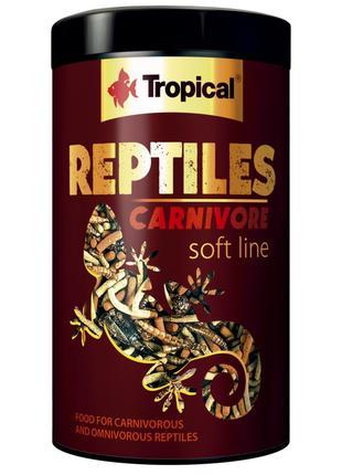 Tropical REPTILES CARNIVORE soft line корм для плотоядных и вс...