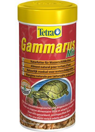 Tetra Gammarus Mix натуральный корм для водных черепах 250мл