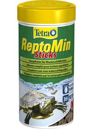Tetra ReptoMin основной корм для водных черепах 100мл