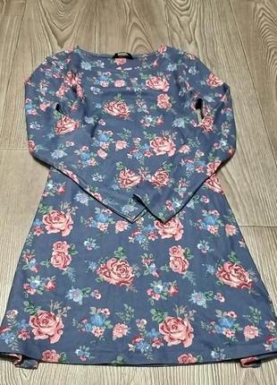 Флисовой платье