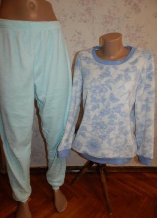 Love to lounge пижама скомбинированная плюшевая кофта со штани...