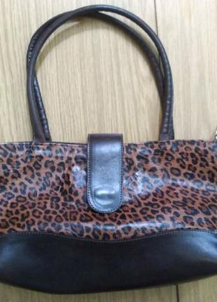 Женская сумка, кожа.