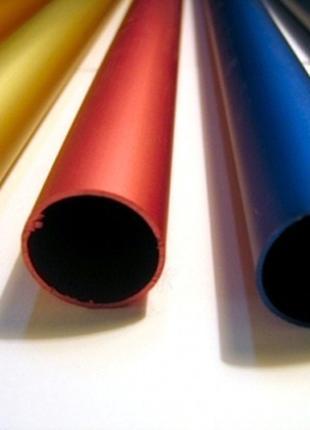 Цветное анодирование алюминиевого профиля