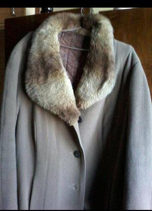Пальто женское зимнее размер 54