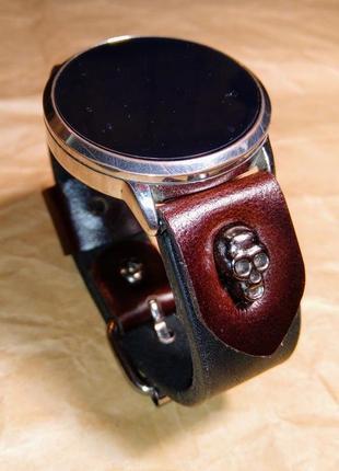 Часовой ремешок из кожи