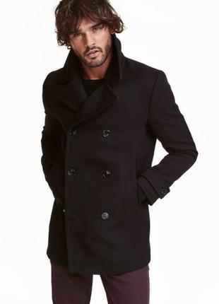 Пальто h&m мужское 46 48 50 размер