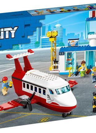 Конструктор LEGO City 60261 Городской аэропорт на 286 детали  ...