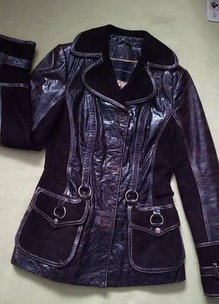 Куртка шкіряна замшева куртка кожаная замшевая giorgio giovanni