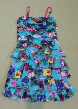 Платье сарафан плаття натуральне