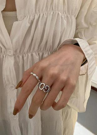 🔗трендовое кольцо базовое кольцо
