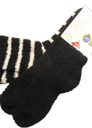 Набор 2 пары пушистые мягкие теплые плюшевые носки травка esma...