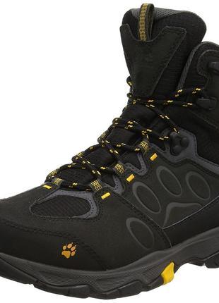 Непромокаемые мембранные ботинки jack wolfskin mountain attack