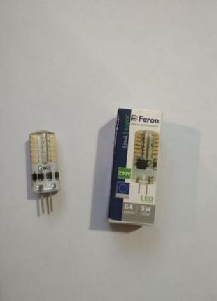 Светодиодная лампа лампочка Led Feron 3W
