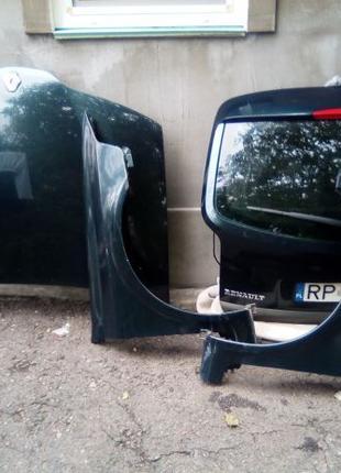Капот Крило Бампер Двери Рено Лагуна2 Renault Розборка