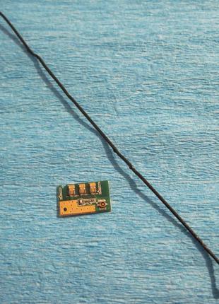 Платка антены и коаксиальный кабель  для Bravis A503 Joy