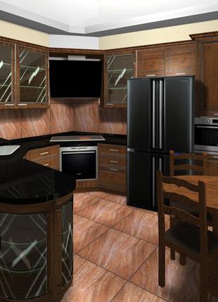 Дизайн, проектирование, изготовление, установка, ремонт мебели