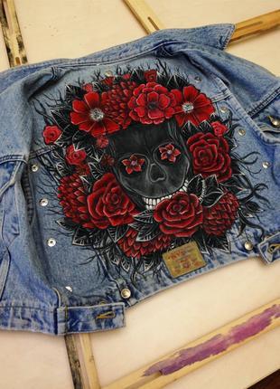 Роспись одежды  (джинс, трикотаж,котон, синтетика)