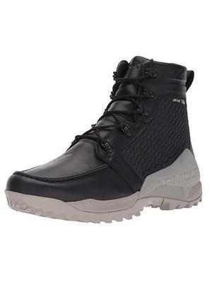 Мужские кожаные трекинговые сапоги, ботинки under armour gore-...