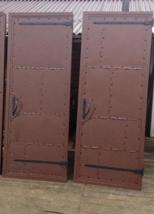 Изготовление входных металлических дверей.