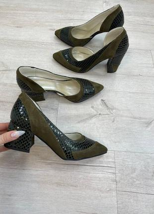 Туфли на каблуке 6 или 9 см на выбор