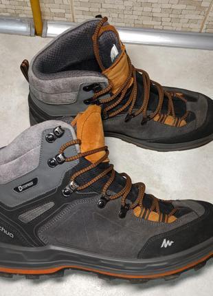 Трекинговые ботинки decathlon