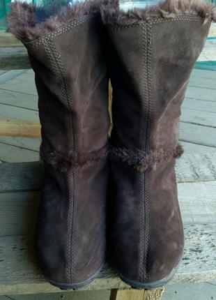 Женские зимние кожанные сапоги Timberland 39 размер