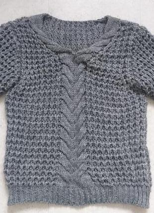 Итальянский свитер крупной вязки 🇮🇹