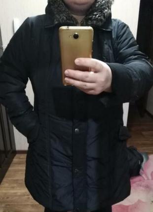 Зимняя куртка designer, большой размер