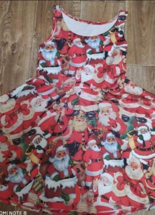 Новоднее платье снегурочки, дед мороз