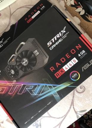 Radeon RX460 asus strix