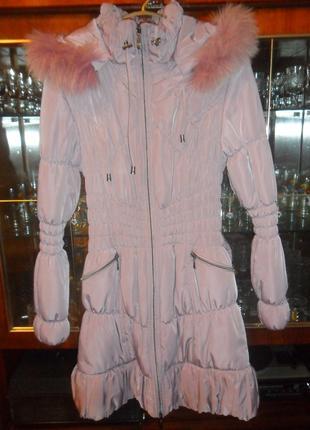 Зимнее женское пальто 48 размер