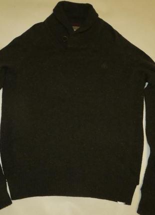Шикарный шерстяной свитер тимберленд