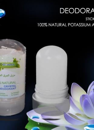 Crystal дезодорант натуральный (алунит, квасцы) ecosunna 60г