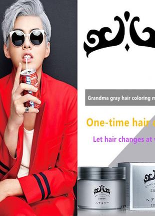 Окрашивающий воск для волос