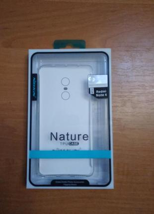 Nillkin Nature clear ,для смартфона Xiaomi Redmi Note 4