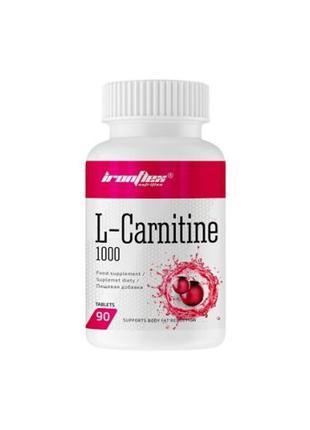 Жиросжигатель IronFlex L-Carnitine 1000, 90 таблеток