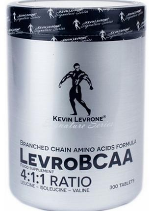 Kevin Levrone Levro BCAA 4:1:1 Ratio 300 табуляції, Кевін Леврони