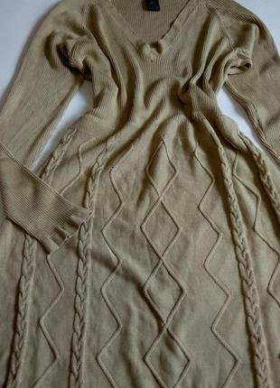 Платье миди  54 56 размер офисное осеннее нарядное теплое на н...
