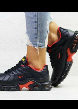Зимние женские кроссовки nike  max tn ботинки женские жіночі