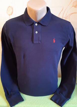 Рубашка поло с длинным рукавом/лонгслив polo by ralph lauren