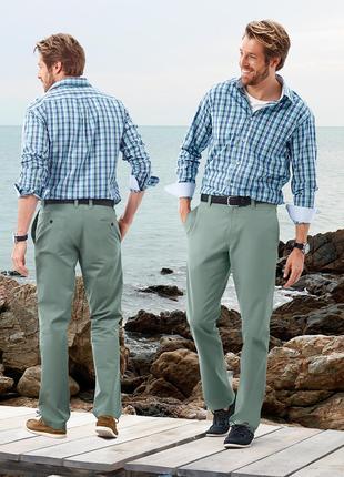 Хлопковые брюки-чинос от tchibo, германия
