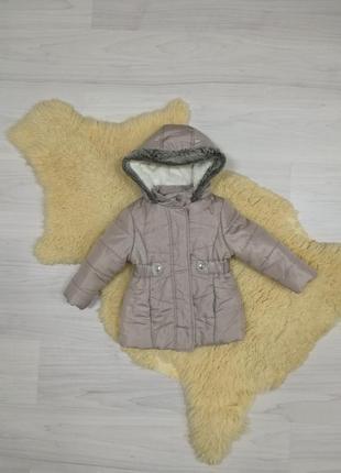 Красивая куртка на 2-3 года
