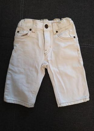 Джинсовые шорты бриджи для мальчика 2/3 года