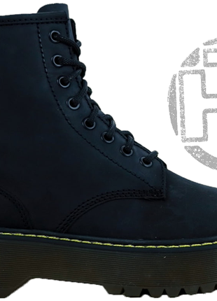 Женские ботинки dr.martens jadon black boots 15265001