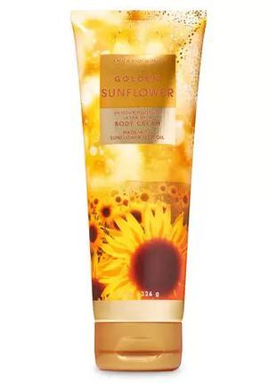 Крем для тела Golden Sunflower Bath and Body Works оригинал сша