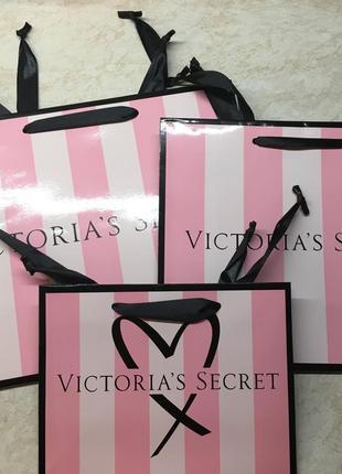 Victoria's secret пакет подарочный для подарков виктория сикрет