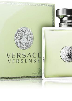 Versace versense женская туалетная вода 100мл,тестер